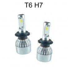 2x lampade fari ricambio 6000K auto 4200 lm alta luminosità 9S H11
