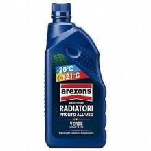 1x Liquido protettivo radiatori 1L Arexons antigelo temperatura auto pronto uso