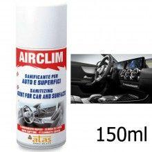 1x Igienizzante auto Airclim disinfettante 150ml battericida ambienti