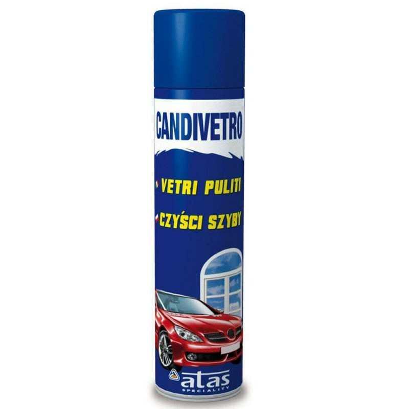 1x Detergente vetri automobile 400 ML Candivetro detergente spray
