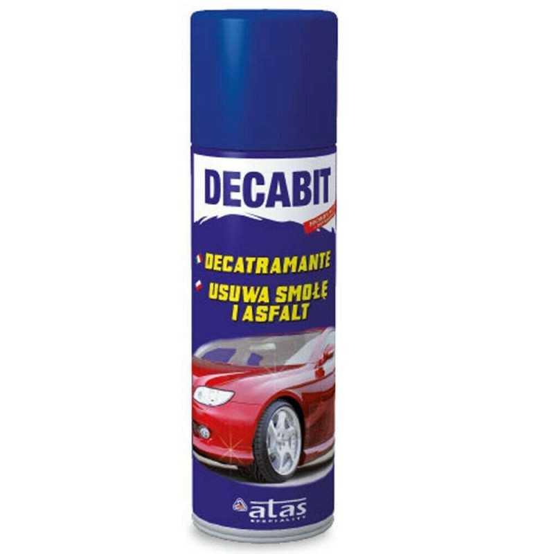 1x Spray rimuovi residui asfalto auto paraurti Decabit 250ml veicoli