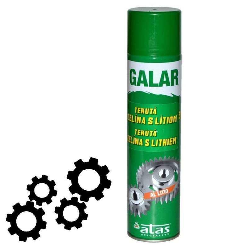 1x Grasso Multiuso GALAR 400ml lubrificante macchine utensili catene auto