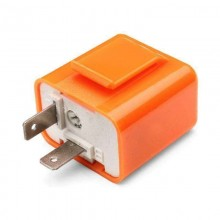 Relè frecce moto rele auto 12V 21W lampeggio regolabile universali clip dimmer