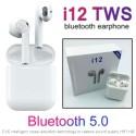 Auricolari wireless cuffie bluetooth I12 TWS PODS IOS ANDROID slim bluetooth 5.0