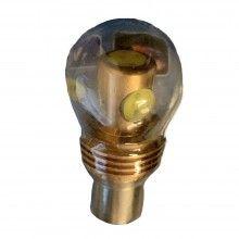 1x Lampadina 1156 1 LED Canbus auto no errore luci COB 12V DC ricambio SMD 5W