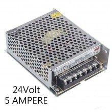 Alimentatore stabilizzato 24V 10A trasformatore regolato 10 AMPERE Strisce LED