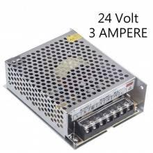 Alimentatore stabilizzato 24V 5A trasformatore regolato 5 AMPERE Strisce LED