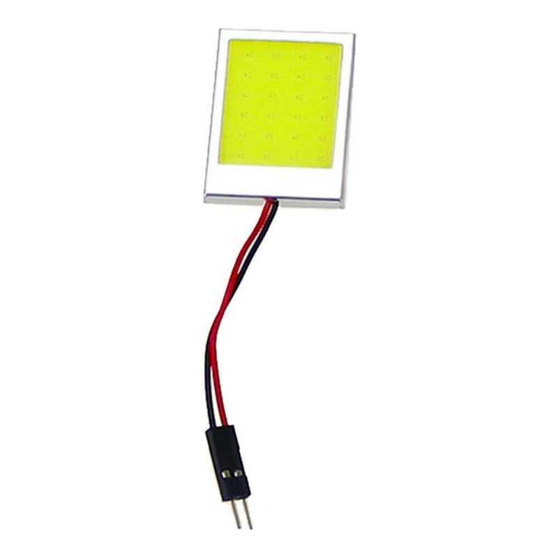 1x Luce 1 LED COB interno auto bagagliaio 18 lumen 30x20mm luce bianca ricambio