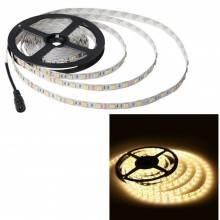 Striscia LED adesiva 12V 5 metri IP65 bobina luce led flessibile 60 LED