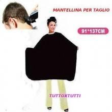 Mantella per tinta, acconciature, bigodini, taglio capelli 91 * 137cm