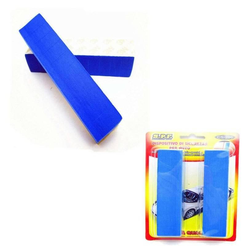 Coppia adesivi paracolpi auto in spugna portiera veicoli graffi sportello 12 cm