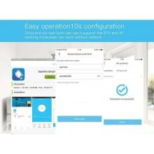 1x Switch WIFI smart controllo remoto 3 gang APP 4G elettrodomestici domotica