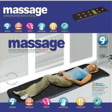 Materassino massaggiante corpo divano pavimento lettino collo schiena cosce