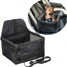 Trasportino auto cane gatto cinghie sicurezza trasporto animali impermeabile