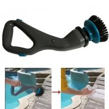 Pulitore rotante cordless ricarica spazzole Hurricane setole potente persiane