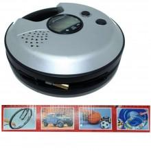 Compressore aria con accessori per auto pneumatici gomme 168W