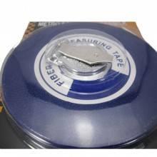 Fettuccia rotella metrica 10 20 30 mt misurazioni riavvolgimento rapido anellata