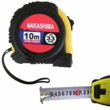 Flessometro 10 METRI professionale con blocco in gomma antiurto