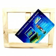 Leggio porta tablet pc libri legno laptop richiudibile trasportabile tavolo casa