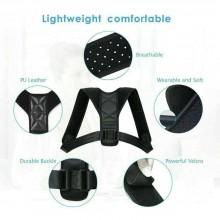 Fascia supporto schiena correttore postura cintura spalla regolabile