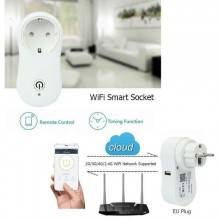 Presa intelligente wifi spia telecomando spina compatibile Alexa android apple