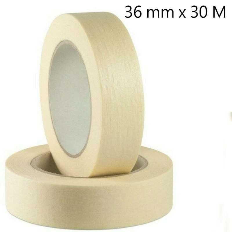 6x Nastro carta adesivo disegn pittura imballaggio maschera 45mmX30metri