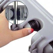 Porta scope da muro salva spazio supporto 3 posti cucina casa pulizia