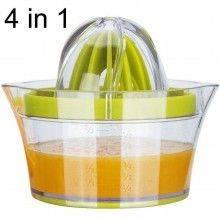 Spremiagrumi 4-in-1 separa uova grattugia misurino agrumi arancia limoni succo