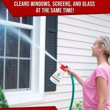 Full crystal - Lavavetro pulizia finestre superfici tubo acqua ugello sapone