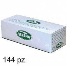 Preservativi SERENA gusto Nature 144pz latex controllo monouso lubrificato lisci