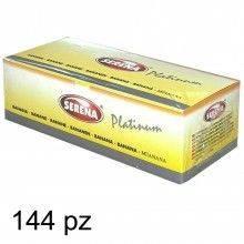 Preservativi SERENA gusto Fragola 144pz latex afrodisiaco monouso lubrificato
