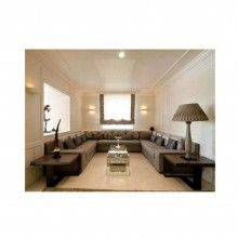 Plafoniera GS-5019 in gesso bianco quadrata illuminazione da interni G9 casa 25W