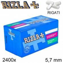 Filtri RIZLA Slims 6mm rigati sigarette 1500 filtro tabacco 10 confezioni da 150