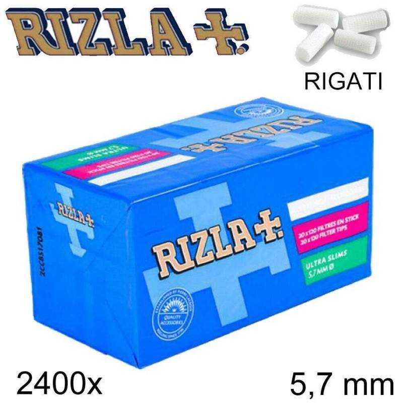 ACCENDINO RIZLA 1500 FILTRI SLIM 6mm 6 mm 10 x 150