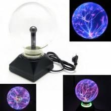 Sfera al plasma light ball scariche elettriche arredare casa ufficio colorata