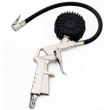 Pistola gonfia gomme con manometro ad innesto rapido gonfiaggio pneumatici bar