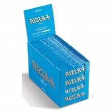 Box RIZLA Blue Slim 50 libretti singoli 1600 cartine lunghe King Size KSSL slim