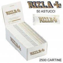 Box RIZLA Micron 50 libretti singoli 2500 cartine corte combustione ultra lenta