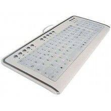 Tastiera Mediacom CX4000 tasti illuminati blu luce LED PC monitor USB Hot Key