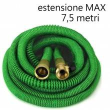 NEW Tubo flessibile irrigazione acqua giardino elastico multigetto VERDE