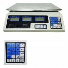 Bilancia da banco professionale piatto acciaio inox precisione commercio ACS-001