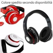 Cuffie stereo wireless bluetooth microfono FM mp3 mp4 headphones SH 13