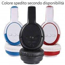 Cuffie stereo wireless bluetooth 4.1 microfono FM mp3 mp4 headphones 6800