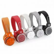 Cuffie stereo wireless bluetooth 2.1 microfono mp3 microSD aux headphones xkb05