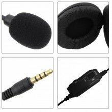 Cuffie gaming compatibili con PS4 XBOX auricolare controllo volume microfono