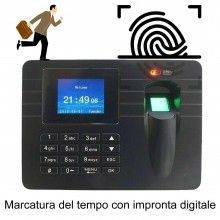 Marcatore tempo ufficio palestra impronta digitale scanner biometrico badge USB