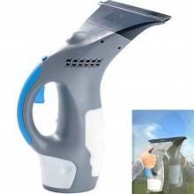 Spruzza Detergente e Aspiragocce Elettrico senza Fili per Pulire Vetri Finestre o superfici lisce in vetro o ceramica