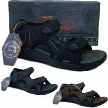 Scarpe uomo JOMIX sandali rigidi chiusura a strappo punta aperta estate vari colori SU0248