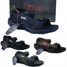 Scarpe uomo JOMIX sandali estivi aperti leggeri chiusura a strappo vari colori SU0097