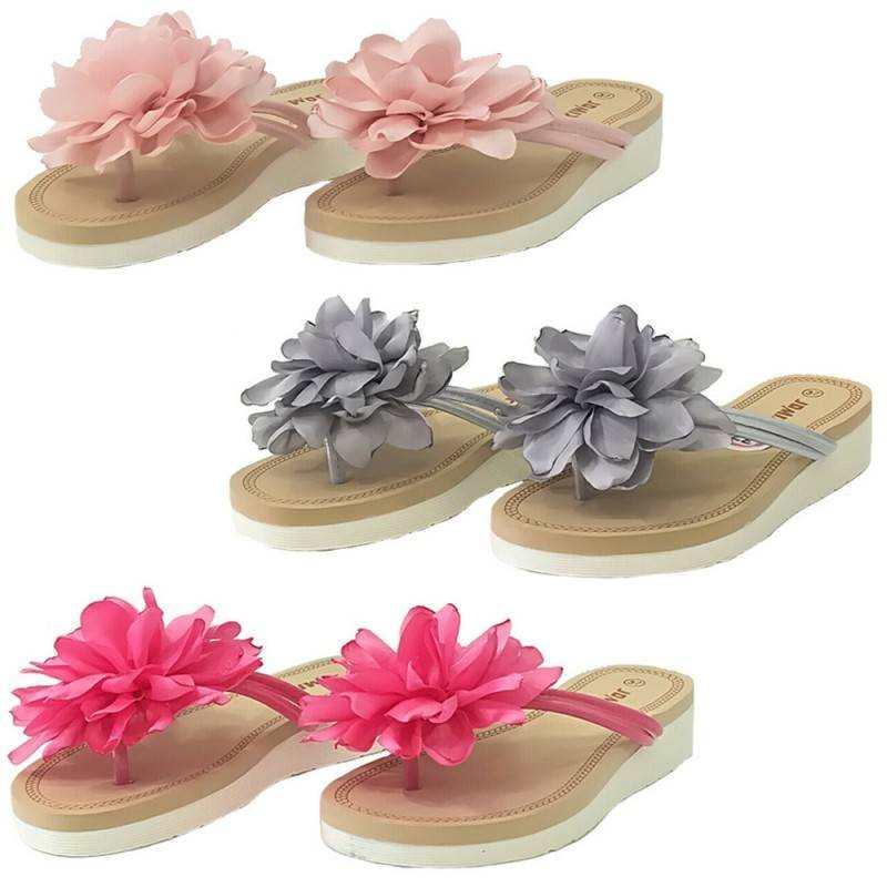 28cb906c82 Infradito Jomix casual ciabatte donna vari colori con fiore sulla fascia  scarpe estive mare spiaggia SD0097